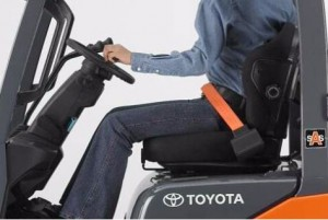 Forklift Seat Belts Are Not An Option Toyota Forklifts