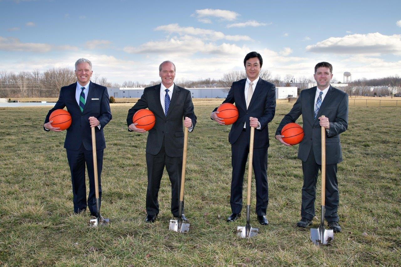 Toyota Forklift Fitness Facility groundbreaking