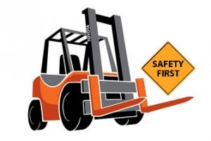 Toyota Forklift Site Safety Assessment