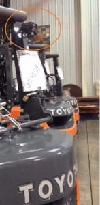 Forklift Spotlight