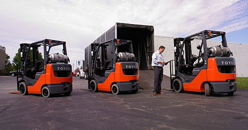 forlift fleet management