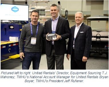 United Rentals Supplier of the Year Award