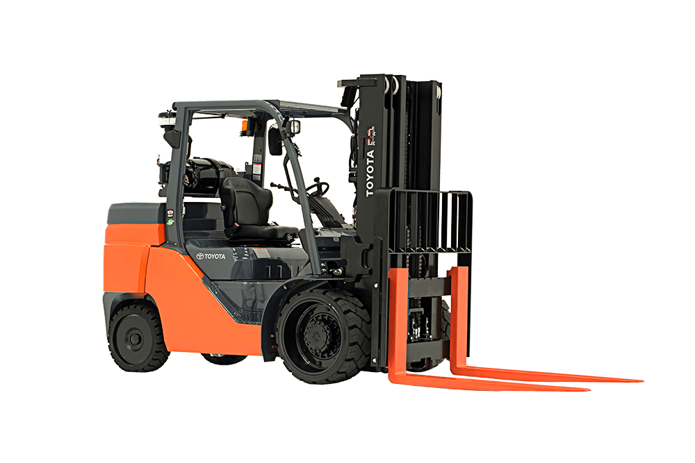 Large Ic Cushion Forklift Toyota Forklifts
